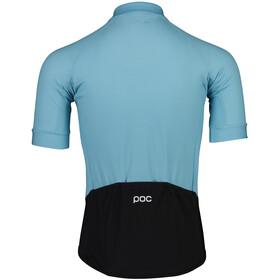 POC Essential Road Logo SS Jersey Men, light basalt blue/basalt blue